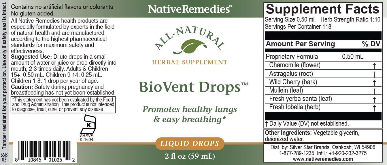 NativeRemedies® BioVent Drops™-351886