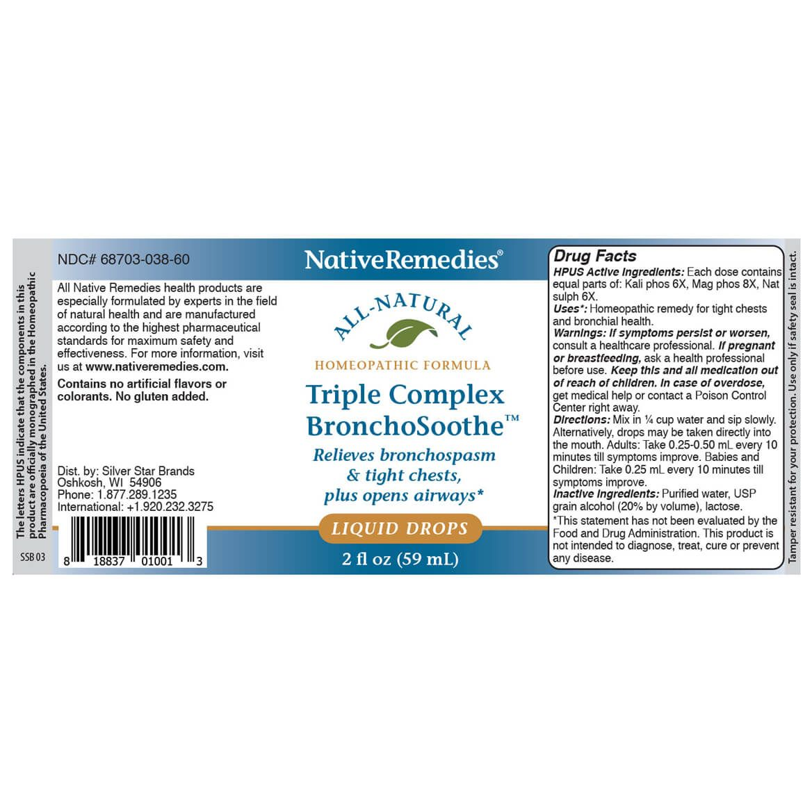 NativeRemedies® Healthy Lungs UltraPack-352239