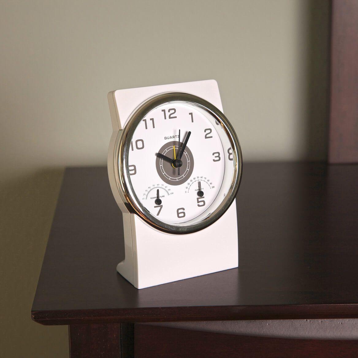 Deluxe Weather Station Alarm Clock-369686