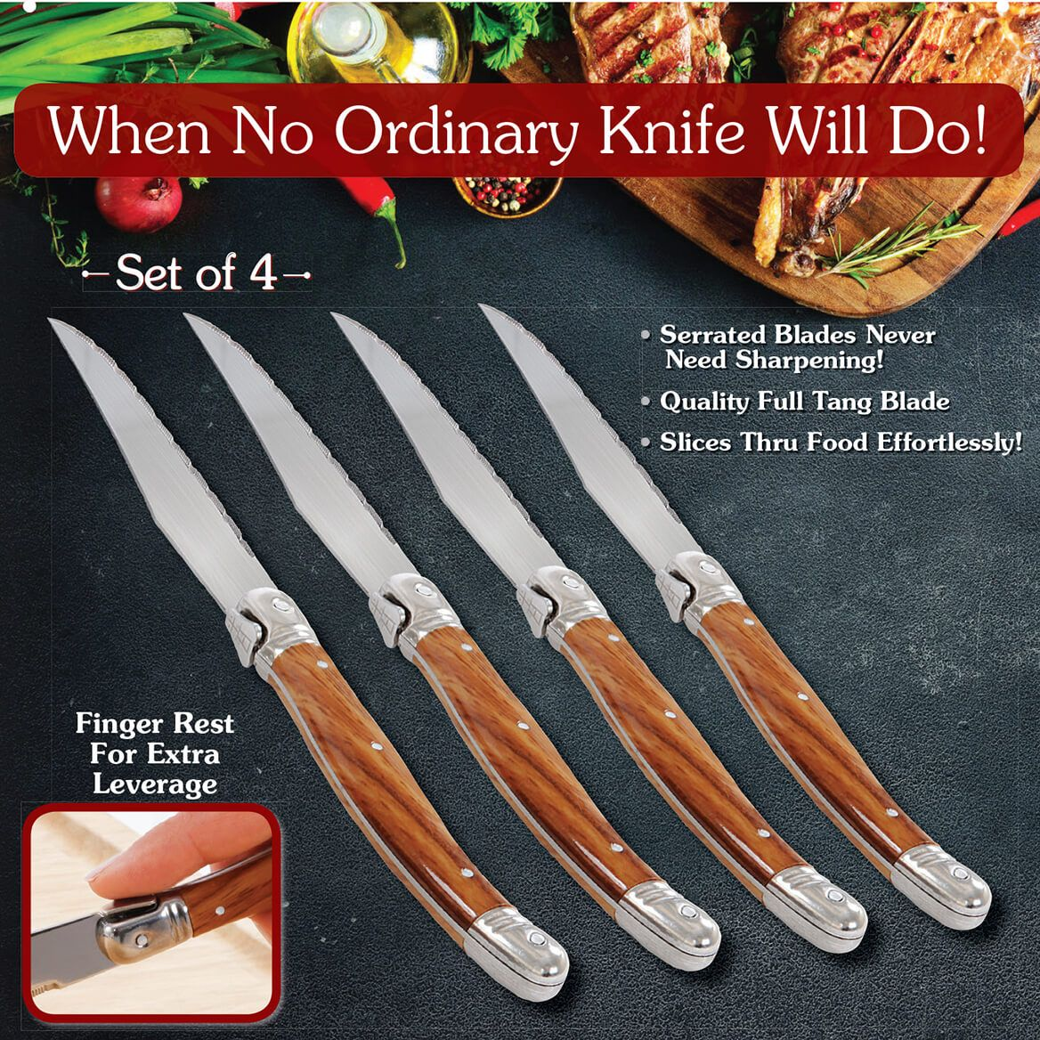 French Style Steak Knives-369713