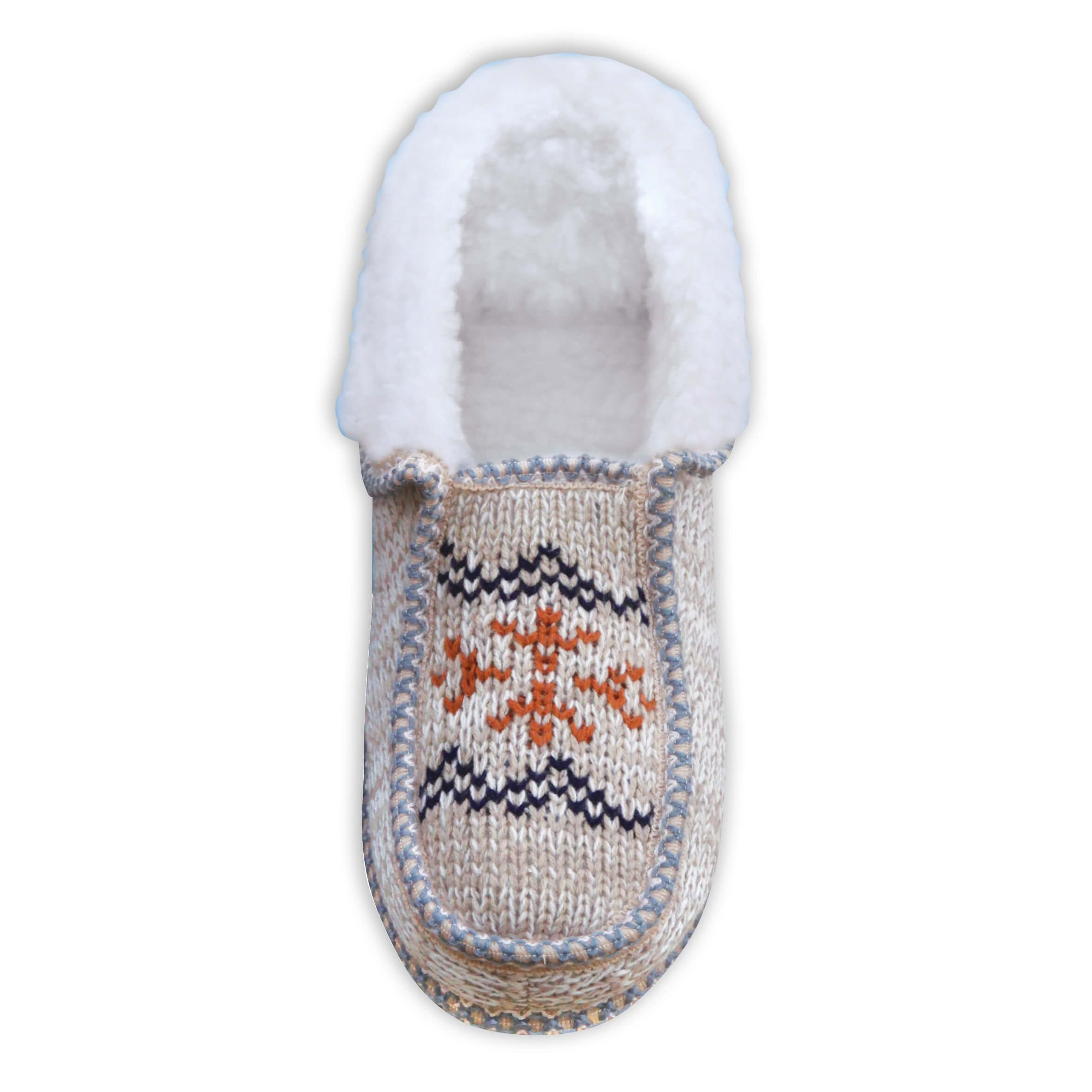 Norwegian Knit Ankle Boots Mens-370074