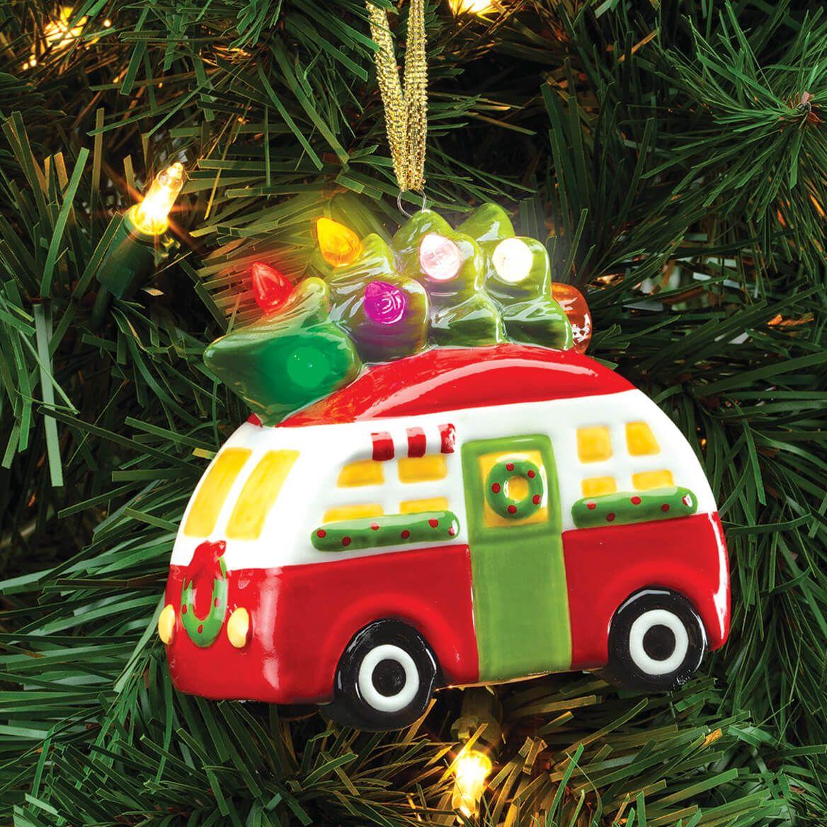 Lighted Camper Ornament-372226