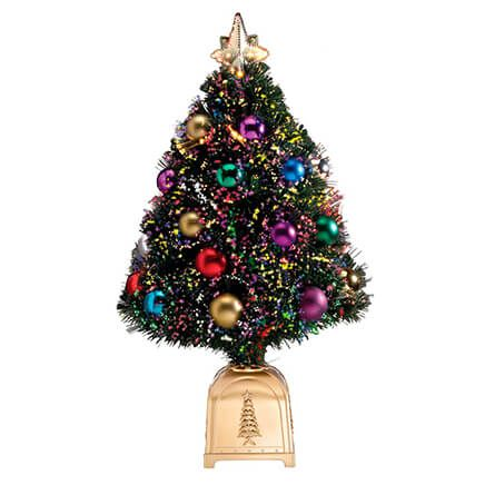 "32"" Decorated Fiber Optic Christmas Tree by Holiday Peak™ XL-302861"