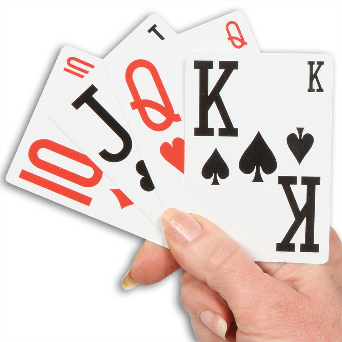 Easy Read Playing Cards Set of 3-330989