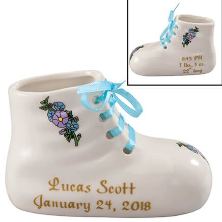 Personalized Deluxe Baby Bootie-346452