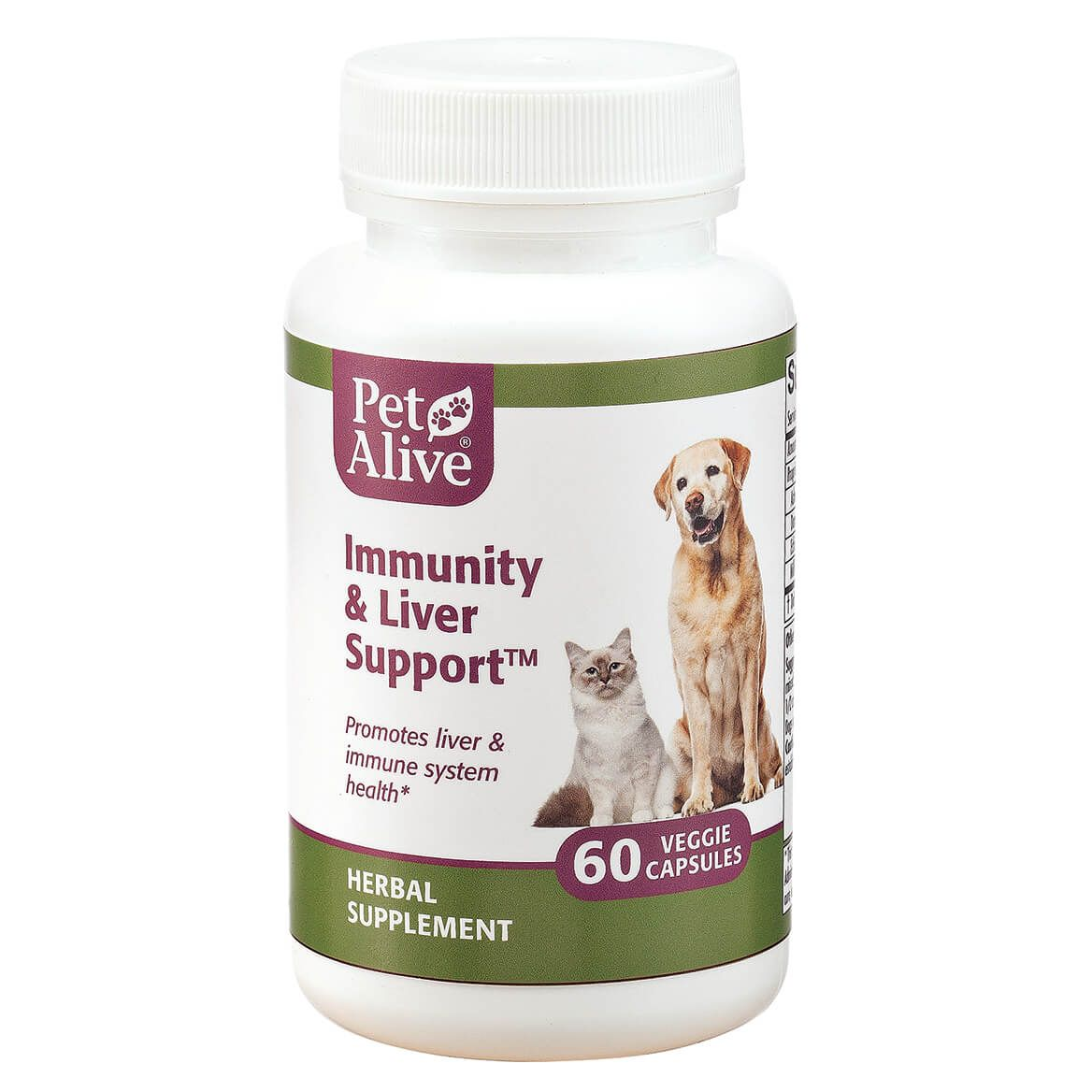 PetAlive® Immunity and Liver Support™ Veggie Cap-351868