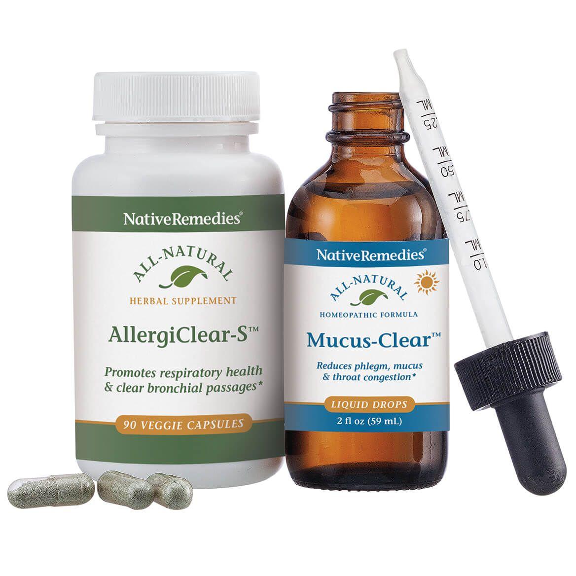 NativeRemedies® Clear Sinus & Throat ComboPack-352230