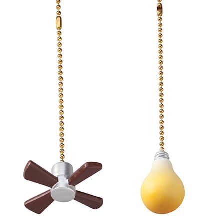 Fan & Light Pulls, Set of 2-353982