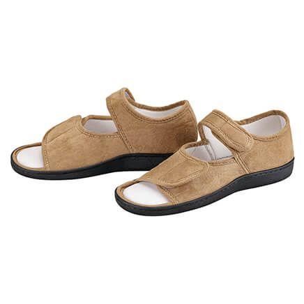 Adjustable Memory Foam Slippers-354540