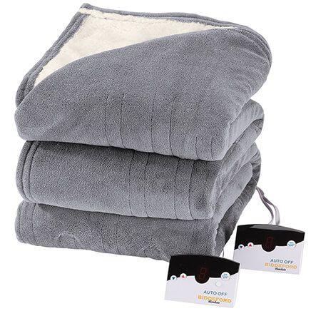 Oakridge™ Micro Plush & Sherpa Heated Blanket by Biddeford-368540