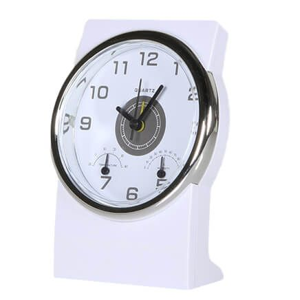 Deluxe Weather Station Alarm Clock-369686
