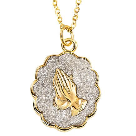 Genuine Diamond Dust Pendant of Faith-369735