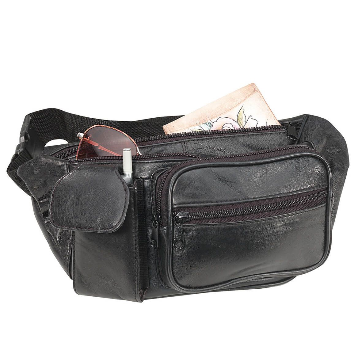 Leather Fanny Pack-369768