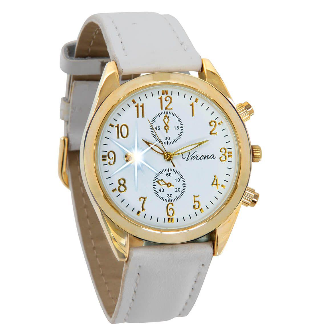 Verona Diamond Dial Watch-369856