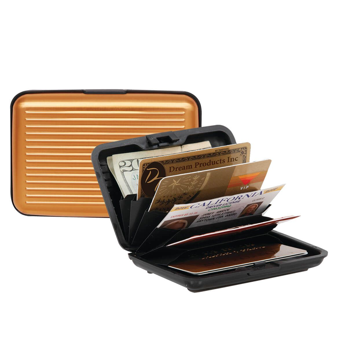 RFID Secure Aluminum Wallet-369860