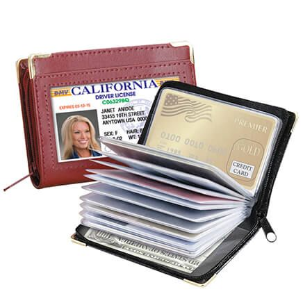 Zip Up Security I.D. Credit Card Case-369903