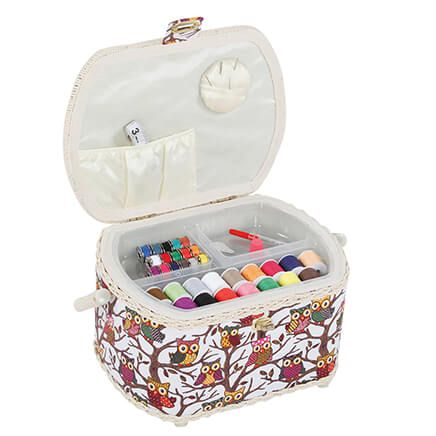 Owl Sewing Basket-369935