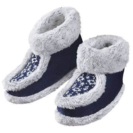 Nordic Knit Comfort Boots-370007