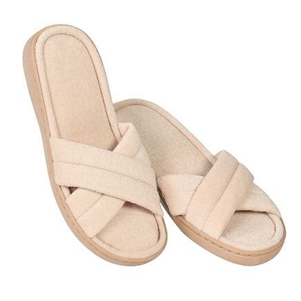 Crossband Comfort Slides Ladies-370012