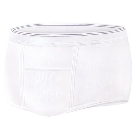 Incontinence Underpants Mens Regular Absorbency S/3-370068