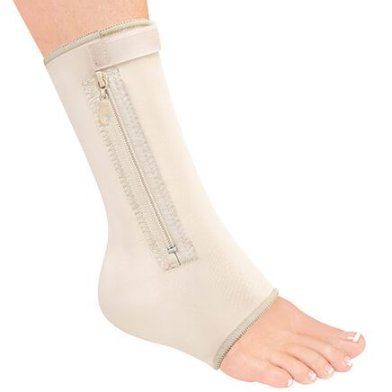 Zippered Compression Ankle Support-370094