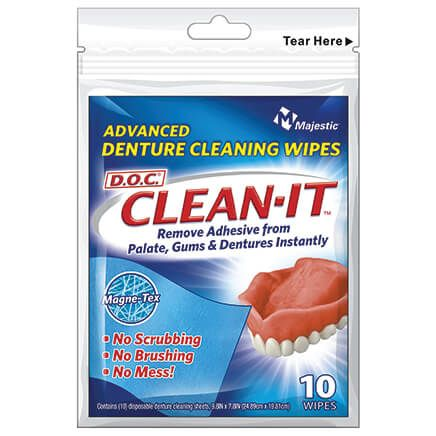 Denture Wipes S/10-370304