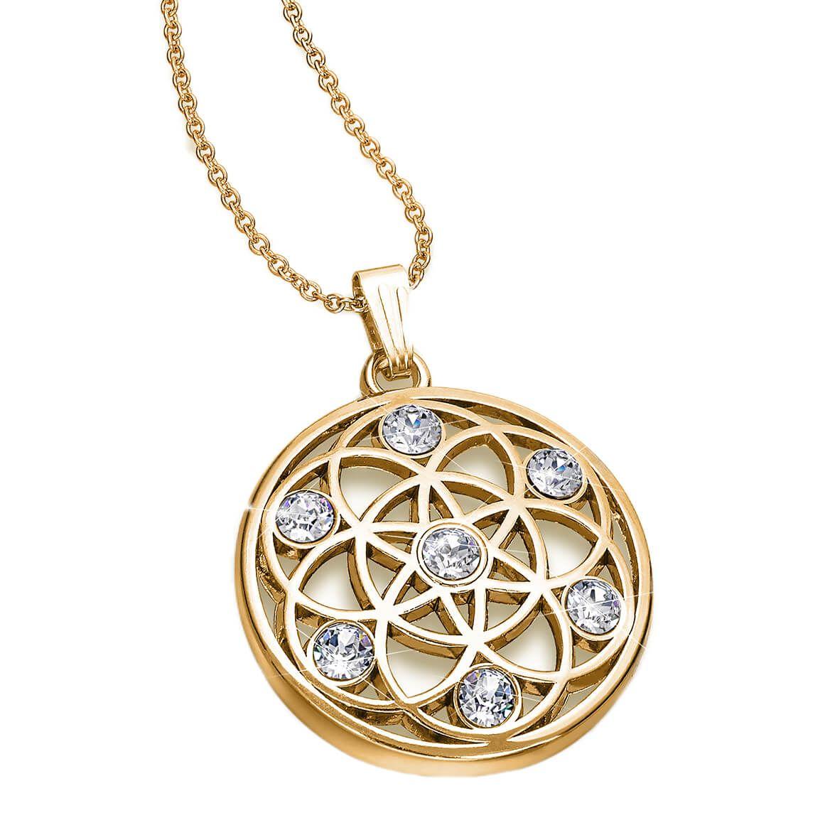 Trinity Crystal Pendant-370919