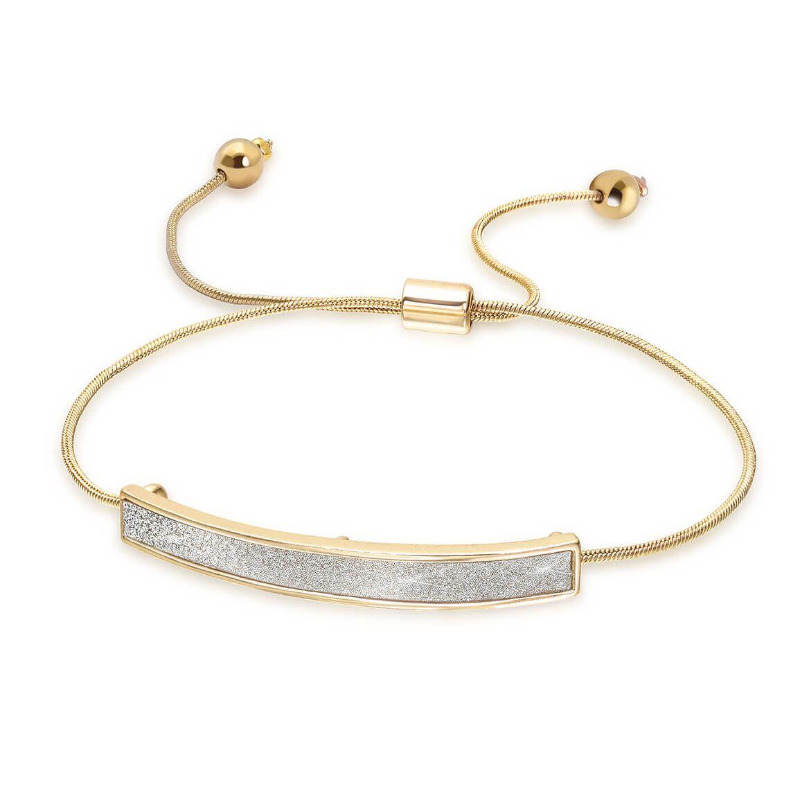 Stardust Adjustable Goldtone Bracelet-371958