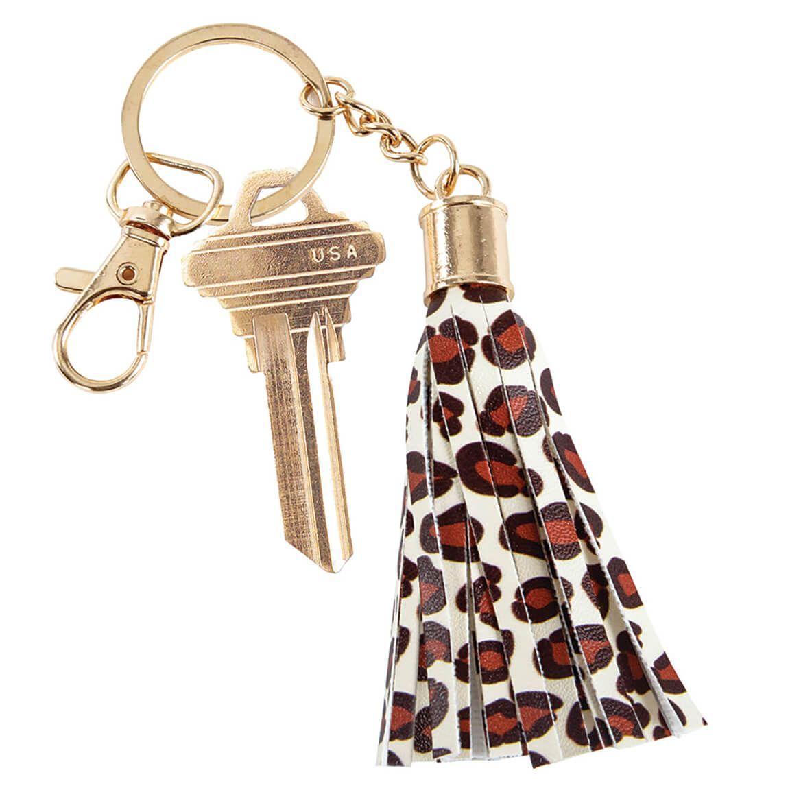 Leopard Print Key FOB-372276