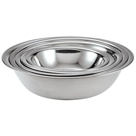 Stainless Steel Mixing Bowls, Set of 5-372384
