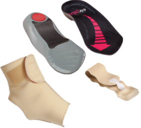 Ankle & foot braces and supports