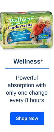 Shop Wellness Incontinence Products