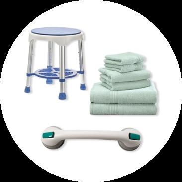 Shower & Bath Aids & Accessories