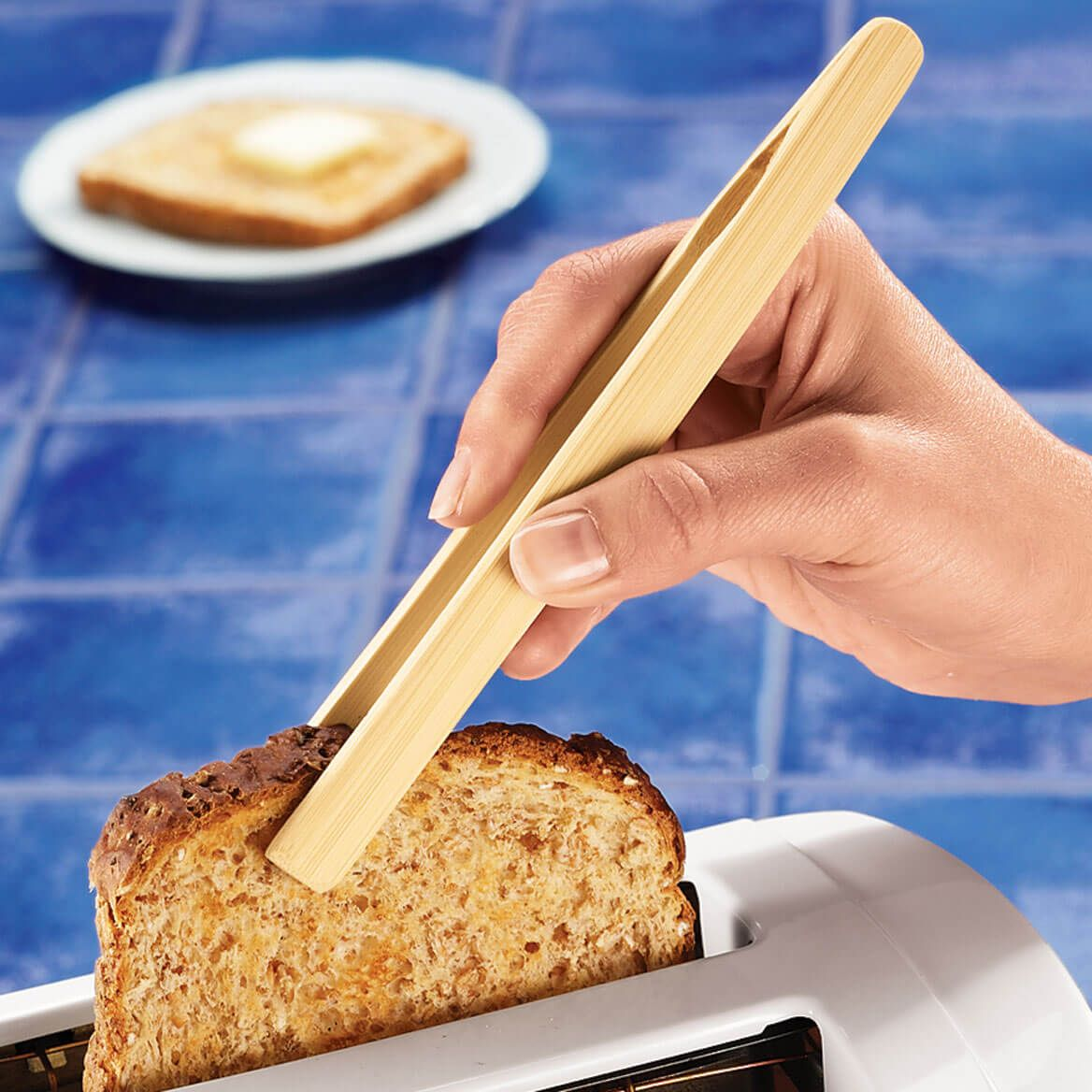 Bamboo Toast Tong-302899
