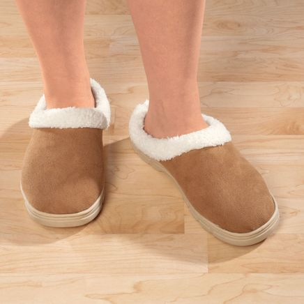 Women's Suede Slippers-311572