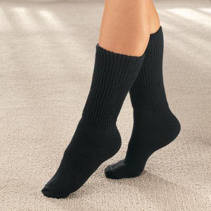 Diabetic Crew Socks, 2 Pairs-344223
