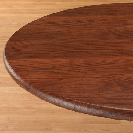 Wood Grain Fitted Table Cover-344622