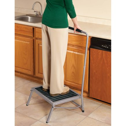 Folding Step Stool with Handle-344953