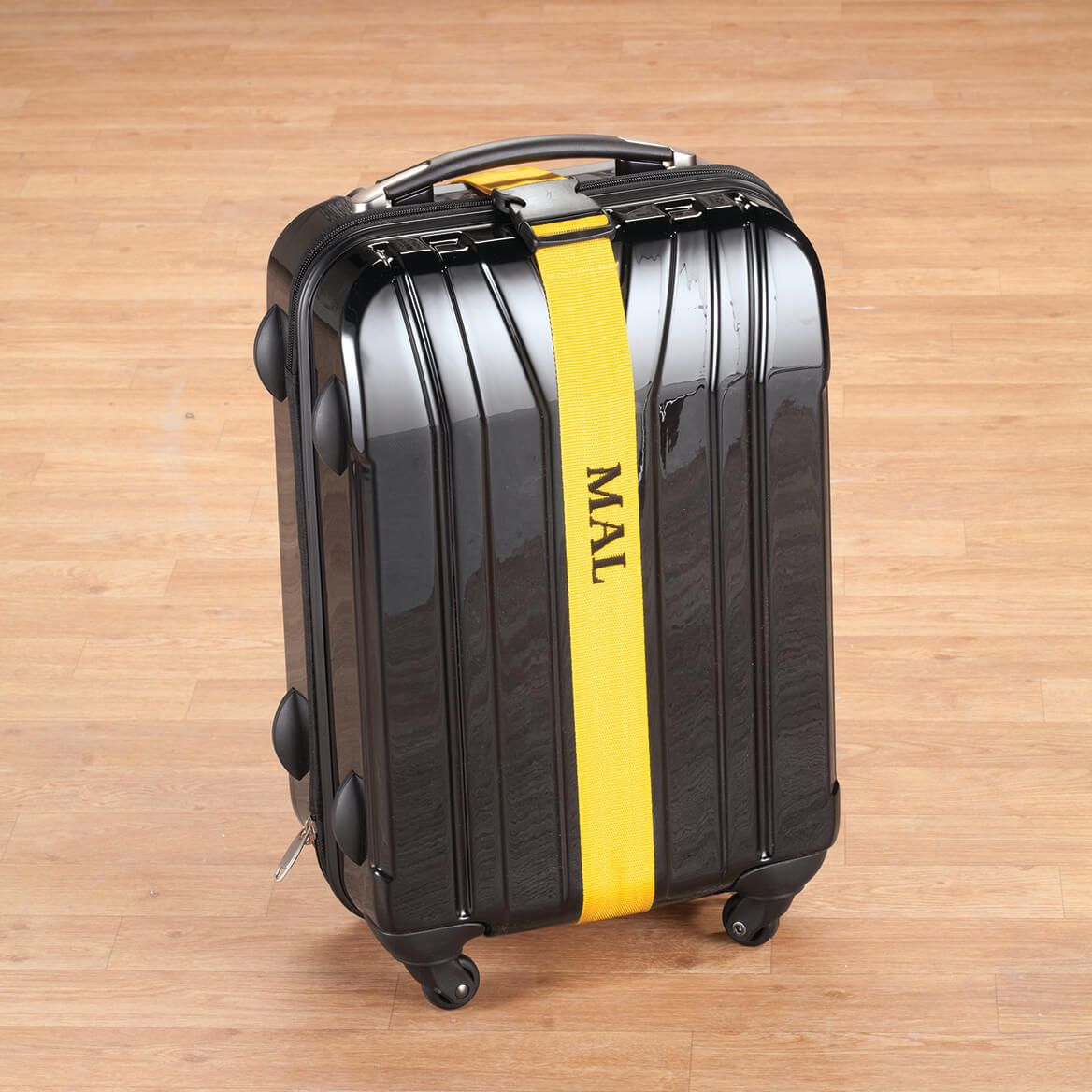 Personalized Yellow Luggage Strap-345423