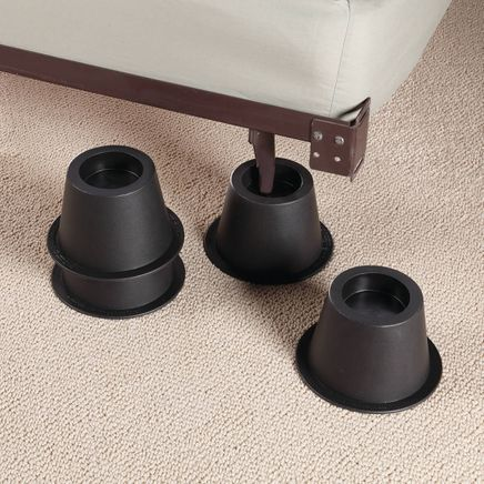 Black Bed Risers - Set of 4-345490