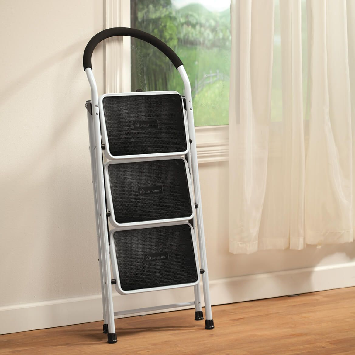 Step Ladder and Stool Combo by LivingSURE™-347701