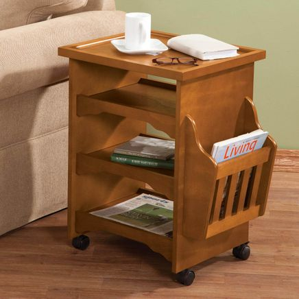 Deluxe Rolling Multipurpose Table by OakRidge™ Accents-347787
