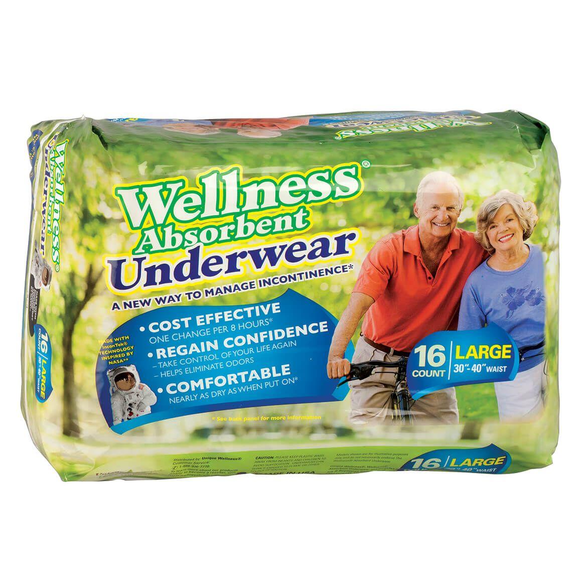 Wellness Absorbent Underwear, pkg.-348262
