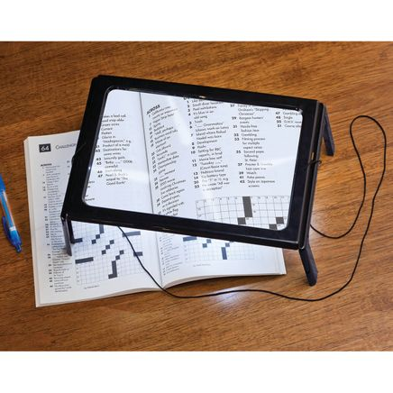 Lighted Stand Magnifier 3X-350100