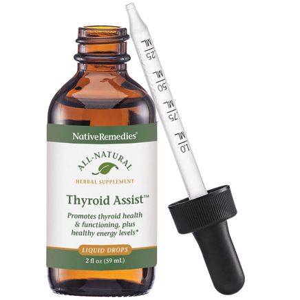 NativeRemedies® Thyroid Assist™ - 2 oz.-350104