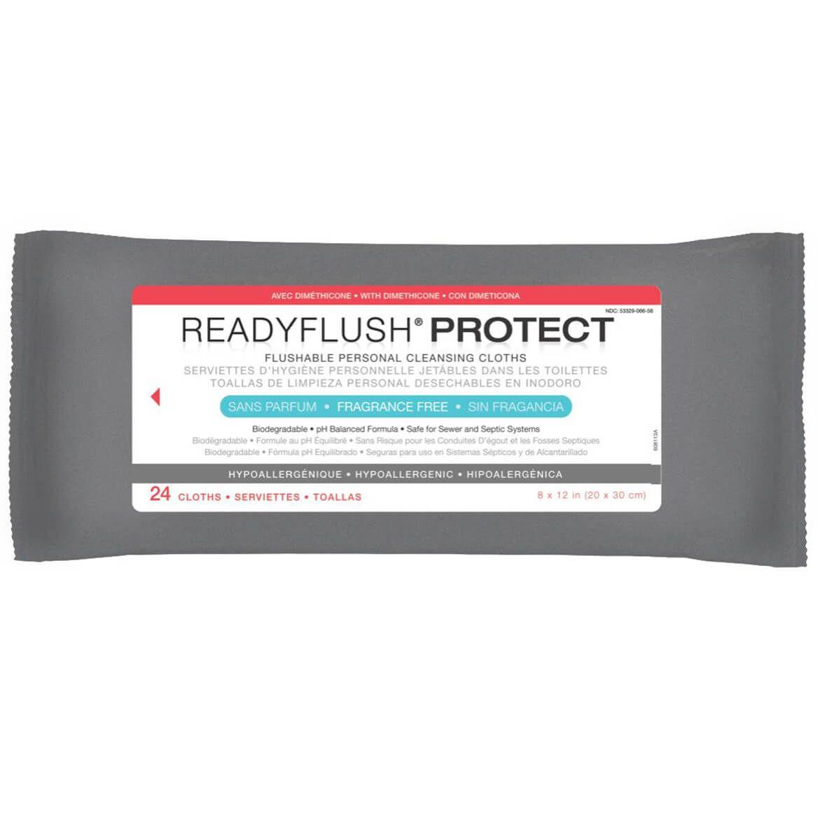 ReadyFlush Protect Skin Protectant Wipes-351479