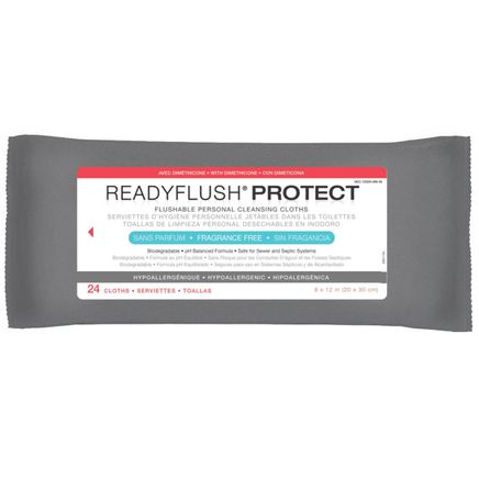 ReadyFlush Protect Skin Protectant Wipes-351479