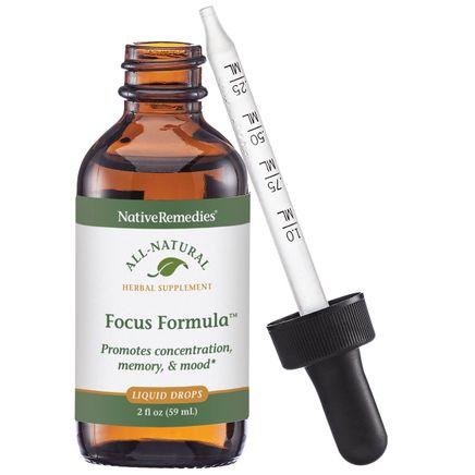 NativeRemedies® Focus Formula™ - 2 oz.-351829