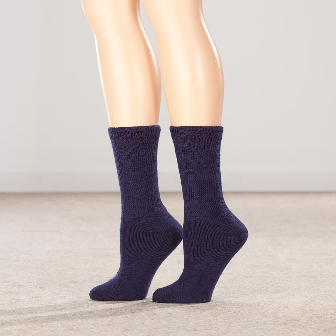 Silver Steps™ 3 Pack Extra Plush Diabetic Socks-352253