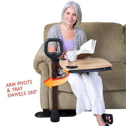 Swiveling Stand Assist Tray Table-354435